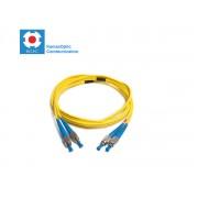 Patch cord FC/PC-FC/PC SM9/125 duplex 2.0mm standard color LSZH jacket cable, (L)m