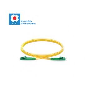 Patch cord LC/APC-LC/PC SM9/125 duplex 2.0mm standard color LSZH jacket cable, (L)m Solutii Fibra Optica