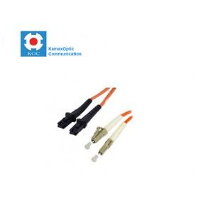 Patch cord MTRJ/PC-LC/PC MM50/125 duplex 2.0mm standard color LSZH jacket cable, (L)m Solutii Fibra Optica