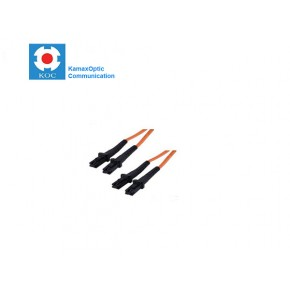 Patch cord MTRJ/PC-MTRJ/PC MM50/125 duplex 2.0mm standard color LSZH jacket cable, (L)m Solutii Fibra Optica