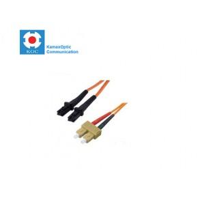 Patch cord MTRJ/PC-SC/PC MM50/125 duplex 2.0mm standard color LSZH jacket cable, (L)m Solutii Fibra Optica