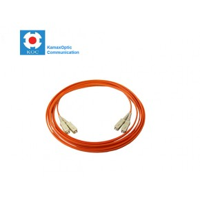 Patch cord SC/PC-SC/PC MM50/125 duplex 2.0mm standard color LSZH jacket cable, (L)m Solutii Fibra Optica