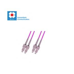 Patch cord SC/PC-SC/PC MM50/125 OM4 duplex 2.0mm standard color LSZH jacket cable, (L)m Solutii Fibra Optica