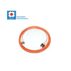 Patch cord ST/PC-FC/PC MM50/125 duplex 2.0mm standard color LSZH jacket cable, (L)m Solutii Fibra Optica