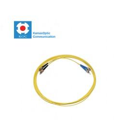 Patch cord ST/PC-FC/PC SM9/125 duplex 2.0mm standard color LSZH jacket cable, (L)m
