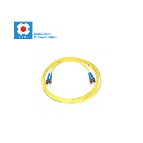 Patch cord ST/PC-ST/PC SM9/125 duplex 2.0mm standard color LSZH jacket cable, (L)m Solutii Fibra Optica