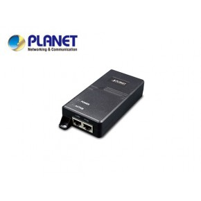 Single Port 10/100/1000Mbps Ultra POE Injector (60 Watts) - w/internal power, 802.3at PoE compatible Echipamente Active