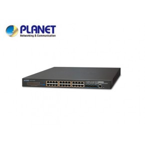 SGS-6341-24P4X: Layer 3 24-Port 10/100/1000T 802.3at POE + 4-Port 10G SFP+ Stackable Managed Gigabit Switch (370W) Echipamente Active