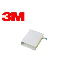2552SA ScotchBox wallmount Echipata cu adaptori si pigtail-uri pentru 12 suduri SC MM Solutii Fibra Optica