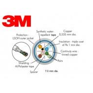 Cablu cat. 6 100 ohms FTP , manta LSOH 4 perechi (500 m tambur)