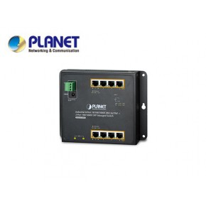 IP30, IPv6/IPv4, 8-Port 1000T 802.3at PoE + 2-Port 100/1000X SFP Wall-mount Managed Ethernet Switch (-40 to 75 C, dual power input on 48-56VDC terminal block and power jack, SNMPv3, 802.1Q VLAN, IGMP Echipamente Active
