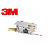 FO Splicing cassette - single fusion heat shrink sleeve 45 mm length
